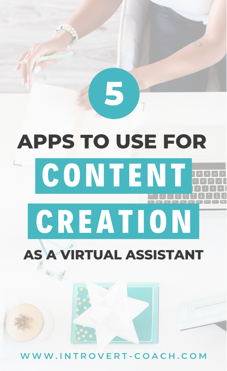 Virtual Assistant Content Creation Apps