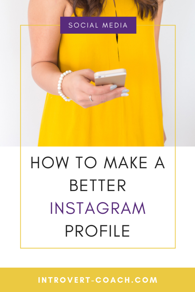 How to Improve Your Instagram Profile