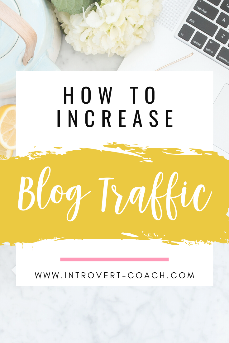 Increase Blog Traffic Pin 1