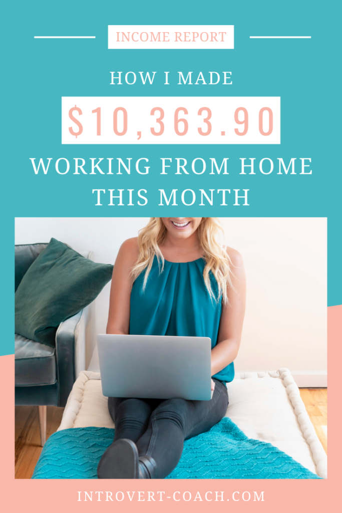 How I Made Over $10000 Working From Home This Month