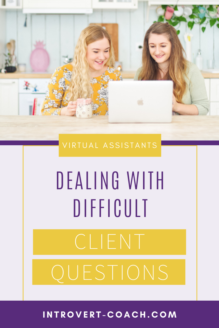 Dealing with Difficult Client Questions