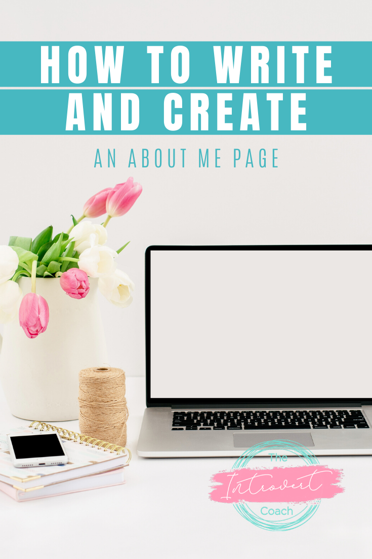 How to Write And Create an About Me Page